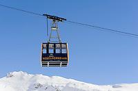 Skilift, Station Höfatsblick auf dem Nebelhorn bei Oberstdorf im Allgäu, Bayern, Deutschland<br /> Ski Lift, Hillstation Höfatsblick,  Mt.Nebelhorn near Oberstdorf, Allgäu, Bavaria, Germany