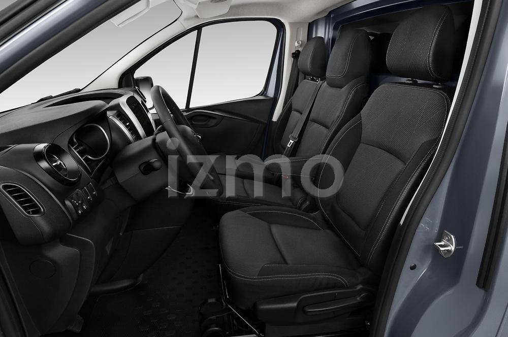 Front seat view of a 2020 Renault Trafic Grand-Confort 4 Door Cargo Van front seat car photos