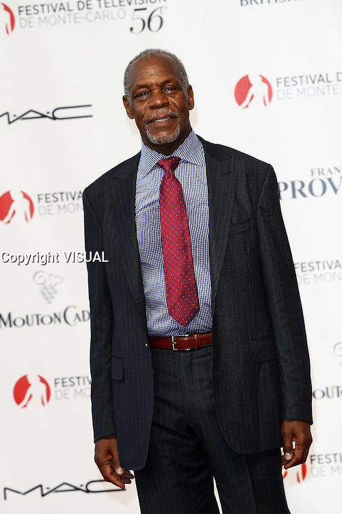 56th Monte-Carlo Television Festival opening red carpet. Danny Glover.