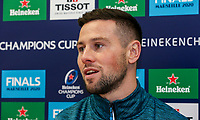 Monday 2nd December 2019   Ulster Rugby Match Briefing<br /> <br /> John Cooney at the Match Briefing held at Kingspan Stadium, Belfast ahead of the Heineken Champions Cup Round 3 clash against Harlequins at Kingspan Stadium, Belfast, on Saturday 6th December 2019. Photo by John Dickson / DICKSONDIGITAL