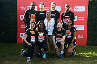 Baroness Doreen Lawrence and Stephen's Team<br /> at the start of the 2018 London Marathon, Greenwich, London<br /> <br /> ©Ash Knotek  D3397  22/04/2018