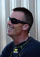 Jul, 22, 2012; Morrison, CO, USA: NHRA top fuel dragster driver Clay Millican during the Mile High Nationals at Bandimere Speedway. Mandatory Credit: Mark J. Rebilas-