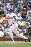 June 18th 2007:  Michael Barrett of the Chicago Cubs during a game at Wrigley Field in Chicago, IL.  Photo by:  Mike Janes/Four Seam Images
