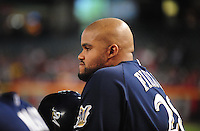 Jun. 30, 2008; Phoenix, AZ, USA; Milwaukee Brewers first baseman Prince Fielder against the Arizona Diamondbacks at Chase Field. Mandatory Credit: Mark J. Rebilas-US PRESSWIRE