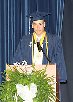 Luke Cooley, Salutatorian