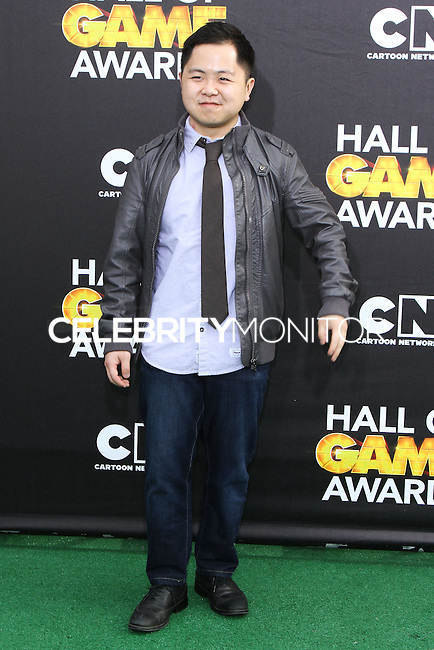 SANTA MONICA, CA, USA - FEBRUARY 15: Matthew Moy at the 4th Annual Cartoon Network Hall Of Game Awards held at Barker Hangar on February 15, 2014 in Santa Monica, California, United States. (Photo by David Acosta/Celebrity Monitor)