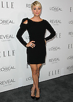 BEVERLY HILLS, CA, USA - OCTOBER 20: Kaley Cuoco arrives at ELLE's 21st Annual Women In Hollywood held at the Four Seasons Hotel on October 20, 2014 in Beverly Hills, California, United States. (Photo by Celebrity Monitor)