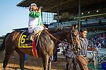 "October 3, 2015: Wild Dude with Rafael Bejarano up win the Breeders' Cup ""Win and You're In"" Santa Anita Sprint Championship at Santa Anita Park in Arcadia, California. Zoe Metz/ESW/CSM"