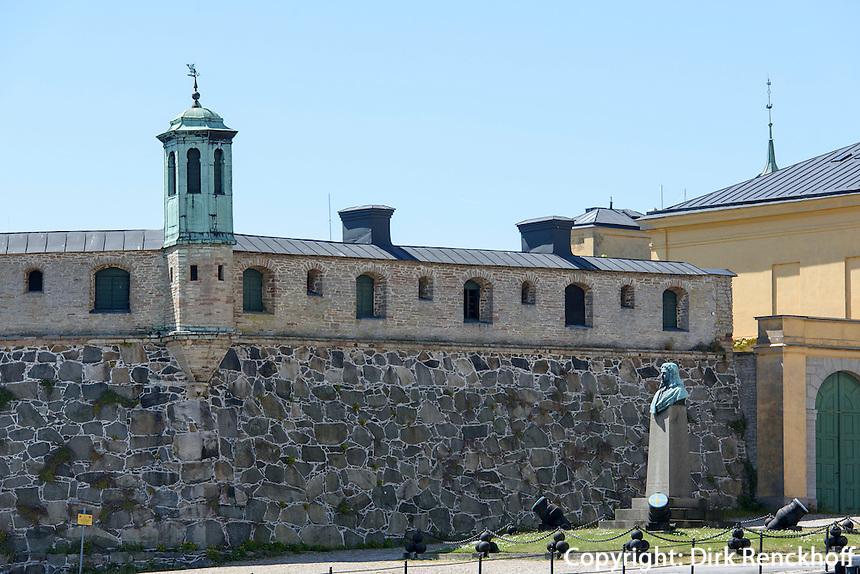 Bastion Aurora in Karlskrona, Provinz Blekinge, Schweden, Europa, UNESCO-Weltkulturerbe<br /> Bastion Aurora in Karlskrona, Province Blekinge, Sweden