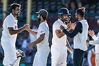 11th January 2021; Sydney Cricket Ground, Sydney, New South Wales, Australia; International Test Cricket, Third Test Day Five, Australia versus India; Ravichandran Ashwinand Hanuma Vihari of India see the game out for a draw