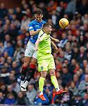 05.05.2019 Rangers v Hibs: Nikola Katic and Marc McNulty