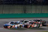 #18: Kyle Busch, Joe Gibbs Racing, Toyota Camry NOS Energy Drink #20: Christopher Bell, Joe Gibbs Racing, Toyota Camry Rheem