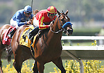 09 August 2009:Lookin at Lucky and Garret Gomez win the Best Pal Stakes at Del Mar Race Track, Del Mar, CA