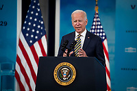 Biden Delivers Update On COVID-19 Response