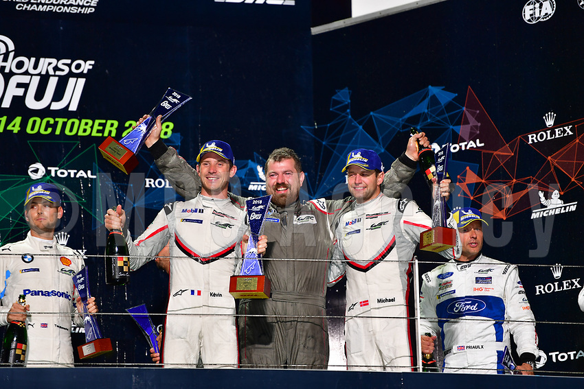 #92 PORSCHE GT TEAM (DEU) PORSCHE 911 RSR GTE PRO MICHAEL CHRISTENSEN (DNK) KEVIN ESTRE (FRA) WINNER LMGTE PRO