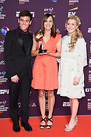 Tom Daly, Jessica Ennis-Hill and Laura Kenny<br /> at the BT Sport Industry Awards 2017 at Battersea Evolution, London. <br /> <br /> <br /> ©Ash Knotek  D3259  27/04/2017