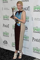 SANTA MONICA, CA, USA - MARCH 01: Cate Blanchett in the press room during the 2014 Film Independent Spirit Awards held at Santa Monica Beach on March 1, 2014 in Santa Monica, California, United States. (Photo by Xavier Collin/Celebrity Monitor)