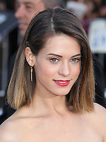 """WESTWOOD, LOS ANGELES, CA, USA - APRIL 28: Lyndsy Fonseca at the Los Angeles Premiere Of Universal Pictures' """"Neighbors"""" held at the Regency Village Theatre on April 28, 2014 in Westwood, Los Angeles, California, United States. (Photo by Xavier Collin/Celebrity Monitor)"""