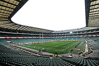 General view of Twickenham Stadium before the RBS 6 Nations match between England and France at Twickenham on Saturday 23rd February 2013 (Photo by Rob Munro)