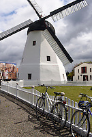Windmühle von Årsdale auf der Insel Bornholm, Dänemark, Europa<br /> windmill in Årsdale, Isle of Bornholm Denmark
