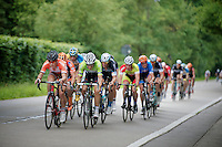 CX  rider Sven Vanthourenhout (BEL/Crélan-AAdrinks) & Maxime Vantomme (BEL/Roubaix Lille Métropole) leading the lead group (with Tom Boonen in tow)<br /> <br /> Heistse Pijl 2014