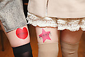 Japanese New Trend - Advertisement on women's legs