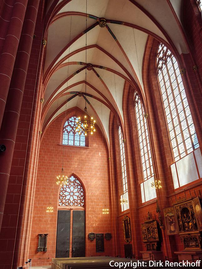 im Dom, Frankfurt, Hessen, Deutschland, Europa<br /> inside the dome, Frankfurt, Hesse, Germany, Europe