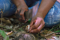 Documentação da comunidade indígena Mebêngôkre-Kayapó no A'Ukre. <br /> <br /> Terra Indígena Kayapó, Ourilândia do Norte, Pará, Brasil.<br /> <br /> Foto: Pedro Peloso