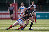 Api during the Kingstone Press Championship match between London Broncos and Rochdale Hornets at Castle Bar , West Ealing , England  on 26 March 2017. Photo by Steve Ball / PRiME Media Images.