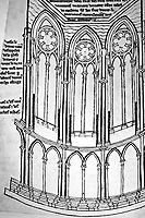 Teaching Aid: Ambulatory Chapel at Reims Cathedral, Reims France.