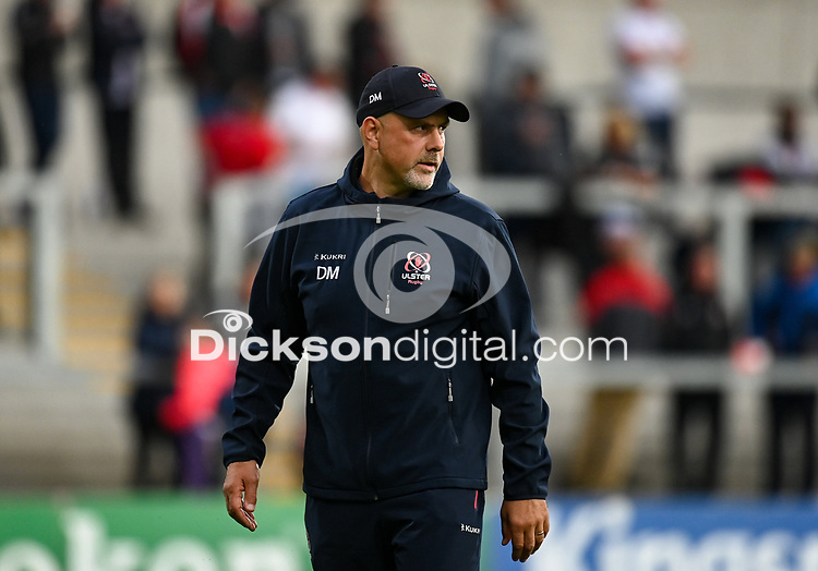 24 September 2021; Ulster head coach Dan McFarland before the United Rugby Championship match between Ulster and Glasgow Warriors at Kingspan Stadium in Belfast. Photo by Harry Murphy/Dicksondigital