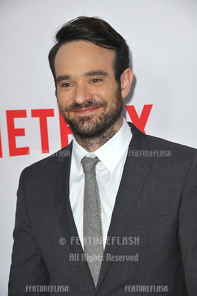 """Charlie Cox at the premiere of his Netflix series """"Marvel's Daredevil"""" at the Regal Cinemas LA Live.<br /> April 2, 2015  Los Angeles, CA<br /> Picture: Paul Smith / Featureflash"""