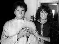 Robin Williams Pam Dawber 1978<br /> Photo By Adam Scull/PHOTOlink.net