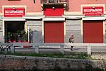 Emergenza Coronavirius Lombardia Zona Rossa deserta anche la zona della movida sui navigli cronaca Milano 06/11/2020 Coronavirus Emergency Navigli nightlife zone empty   chronicle Milan 06/11/2020