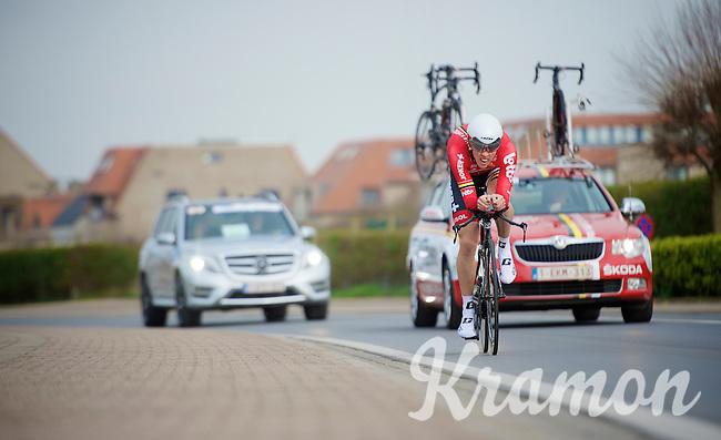 Vegard Breen (NOR)<br /> <br /> 3 Days of West-Flanders 2014<br /> day 1: TT/prologue Middelkerke 7,0 km