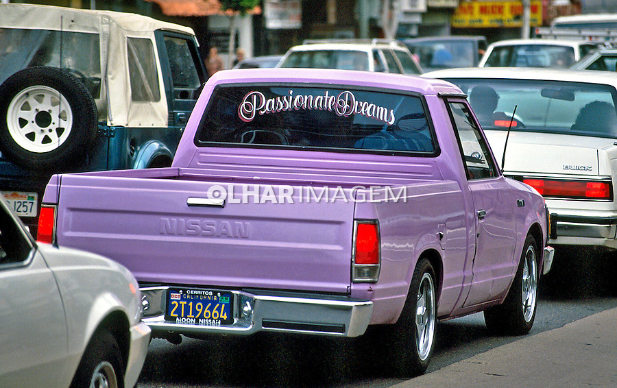 Automóvel Pick up em Los Angeles. Foto de Juca Martins.