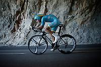 Fabio Aru (ITA/Astana)<br /> <br /> stage 13 (ITT): Bourg-Saint-Andeol - Le Caverne de Pont (37.5km)<br /> 103rd Tour de France 2016