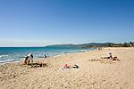Frankreich, Provence-Alpes-Côte d'Azur, Fréjus: Strand Plage Fréjus | France, Provence-Alpes-Côte d'Azur, Fréjus: Beach Plage Fréjus