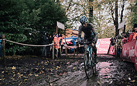 Kevin Pauwels (BEL/Marlux-Napoleon Games)<br /> <br /> Elite Men's race<br /> Superprestige Gavere / Belgium 2017