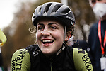 Grace Brown (AUS) Mitchelton-Scott Women finishes in 2nd place at the end of Liege-Bastogne-Liege Femmes 2020, running 135km from Liege to Liege, Belgium. 4th October 2020.<br /> Picture: ASO/Thomas Maheux | Cyclefile<br /> All photos usage must carry mandatory copyright credit (© Cyclefile | ASO/Thomas Maheux)