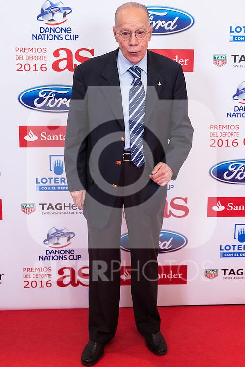 "Luis Suarez during the ""As sports Awards"" at Palace Hotel in Madrid, Spain. december 19, 2016. (ALTERPHOTOS/Rodrigo Jimenez)"