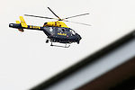 Pix: Shaun Flannery/shaunflanneryphotography.com...COPYRIGHT PICTURE>>SHAUN FLANNERY>01302-570814>>07778315553>>..9th April 2011...............South Yorkshire Police helicopter, Sierra Yankee 99.