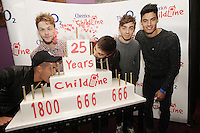 20/11/13<br />  The Wanted, band members (L-R)Max George, Jay McGuiness,Tom Parker,Nathan Sykes and Siva Kaneswaran who will be performing Cheerios Childline Concert at the O2 Dublin this evening….<br /> Pic Collins Photos