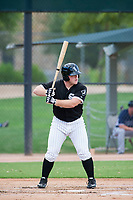 AZL White Sox designated hitter Adam McGinnis (46) at bat against the AZL Padres on July 31, 2017 at Camelback Ranch in Glendale, Arizona. AZL White Sox defeated the AZL Padres 2-1. (Zachary Lucy/Four Seam Images)