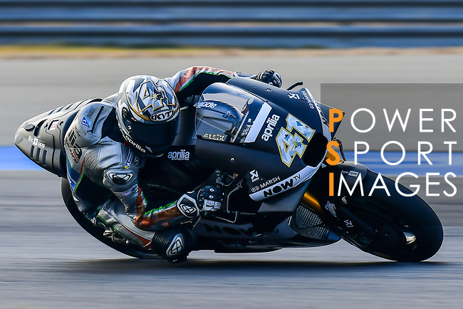 Aprilia Racing Team Gresini's rider Aleix Espargaro of Spain rides during the MotoGP Official Test at Chang International Circuit on 18 February 2018, in Buriram, Thailand. Photo by Kaikungwon Duanjumroon / Power Sport Images