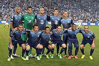 Sporting Park, Kansas City, Kansas, July 31 2013:<br /> MLS All Stars starting XI<br /> MLS All-Stars were defeated 3-1 by AS Roma at Sporting Park, Kansas City, KS in the 2013 AT & T All-Star game.
