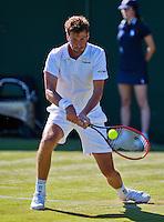 England, London, June 30, 2015, Tennis, Wimbledon, Robin Haase (NED) <br /> Photo: Tennisimages/Henk Koster