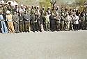 Iraq 2002.In Barzan, on march 14th, the celebration of Mustafa Barzani' s birthday.Irak 2002.Celebration a Barzan de l'anniversaire de naissance de Mustafa Barzani