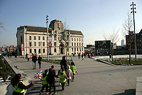 General Gordon Square, Woolwich Arsenal, London, UK