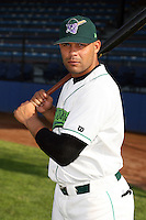 June 27th 2008:  Felix Martinez of the Jamestown Jammers, Class-A affiliate of the Florida Marlins, during a game at Russell Diethrick Park in Jamestown, NY.  Photo by:  Mike Janes/Four Seam Images